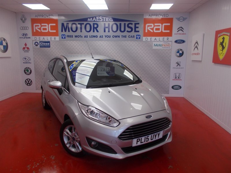 used Ford Fiesta ZETEC(ONLY 19000 MILES) FREE MOT'S AS LONG AS YOU OWN THE CAR!!! in glamorgan