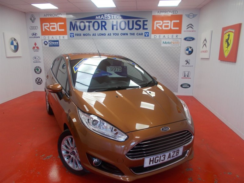 used Ford Fiesta TITANIUM X(AUTOMATIC)FREE MOT'S AS LONG AS YOU OWN THE CAR!!!! in glamorgan