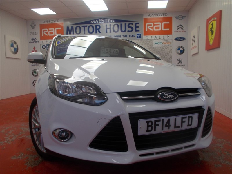used Ford Focus ZETEC TDCI (ONLY 64000 MILES AND £20.00 ROAD TAX) FREE MOT'S AS LONG AS YOU OWN THE CAR!!! in glamorgan