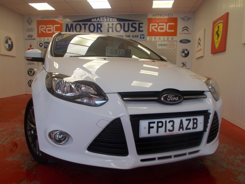 used Ford Focus ZETEC TDCI(£20.00 ROAD TAX)(68610 MILES) FREE MOT'S AS LONG AS YOU OWN THE CAR!!! in glamorgan
