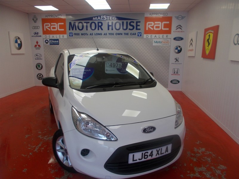 used Ford KA STUDIO PLUS(£30.00 ROAD TAX) FREE MOT'S AS LONG AS YOU OWN THE CAR!!! in glamorgan