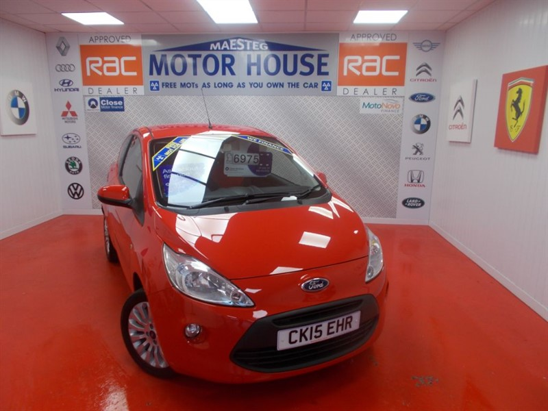 used Ford KA ZETEC (£30.00 ROAD TAX) FREE MOT'S AS LONG AS YOU OWN THE CAR!!! in glamorgan