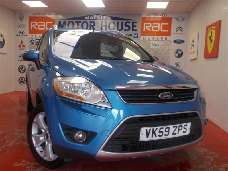 Car of the week - Ford Kuga ZETEC TDCI(ONLY 72509 MILES)FREE MOT'S AS LONG AS YOU OWN THE CAR!!! - Only £5,975