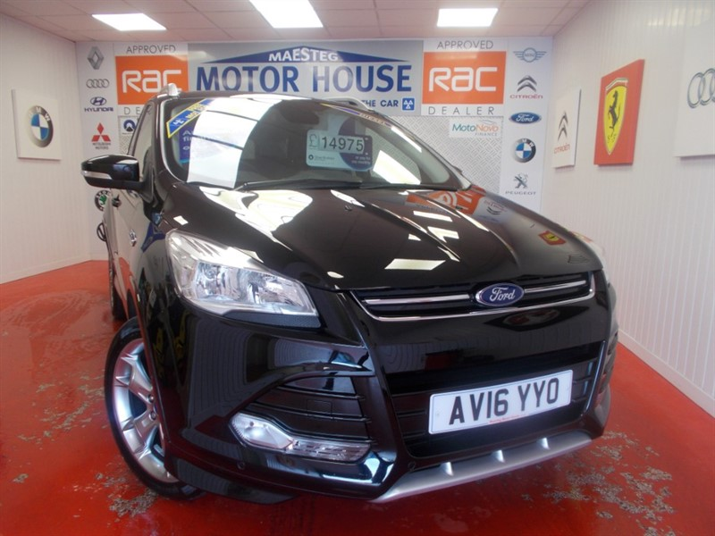 used Ford Kuga TITANIUM SPORT TDCI (SAT NAV) FREE MOT'S AS LONG AS YOU OWN THE CAR!!! in glamorgan