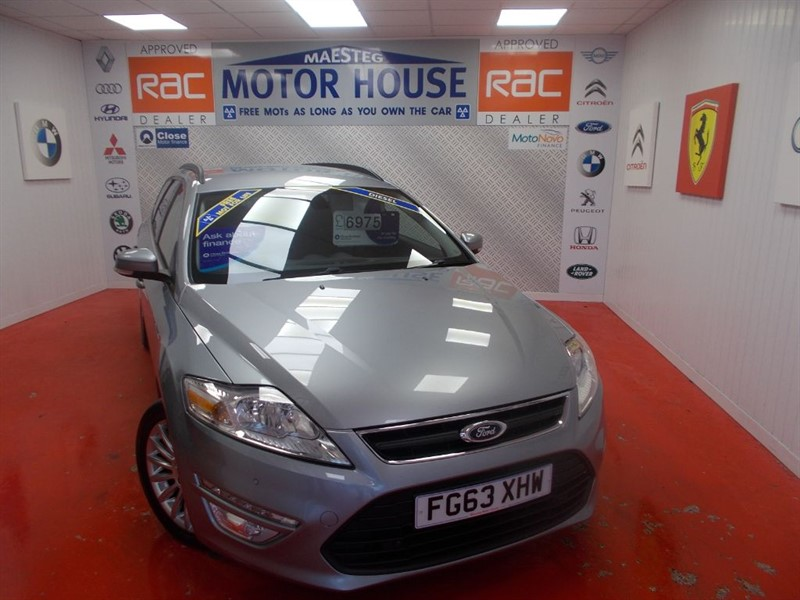 used Ford Mondeo ZETEC BUSINESS EDITION TDCI (FREE MOT'S AS LONG AS YOU OWN THE CAR)!!! in glamorgan