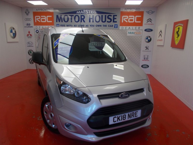 used Ford Transit Connect 200 TREND P/V(FREE MOT'S AS LONG AS YOU OWN THE CAR!!! in glamorgan