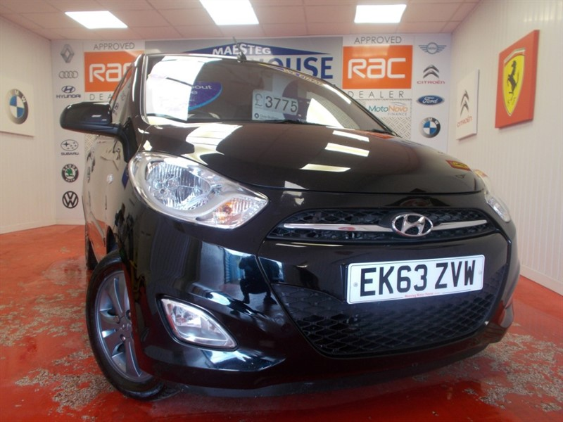 used Hyundai i10 ACTIVE (ONLY £20.00 ROAD TAX) FREE MOT'S AS LONG AS YOU OWN THE CAR!!! in glamorgan