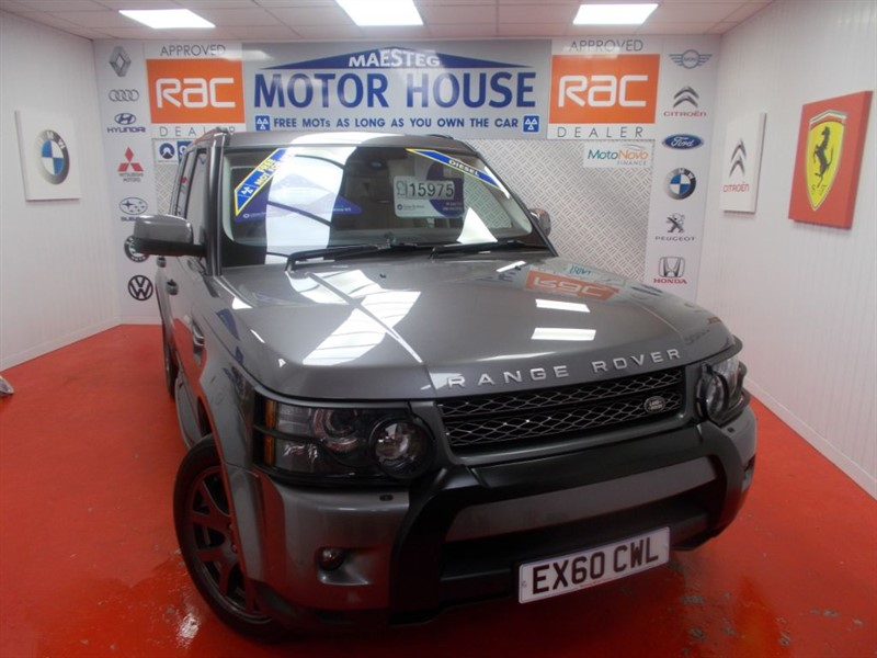 used Land Rover Range Rover Sport TDV6 HSE(HUGE SPEC & 66000 MILES ) FREE MOT'S AS LONG AS YOU OWN THE CAR!!! in glamorgan