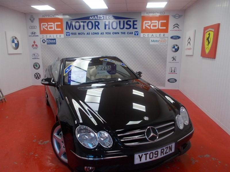 used Mercedes CLK200 CLK CLK200 KOMPRESSOR SPORT(FREE MOT'S AS LONG AS YOU OWN THE CAR!!!) in glamorgan
