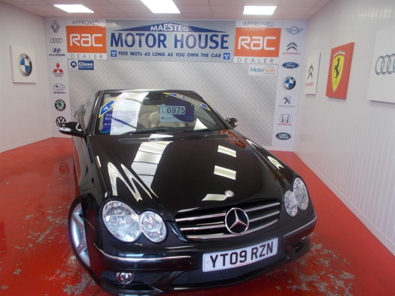 used Mercedes CLK200 CLK200K SPORT(FULL CREAM LEATHER) FREE MOT'S AS LONG AS YOU OWN THE CAR!!! in glamorgan