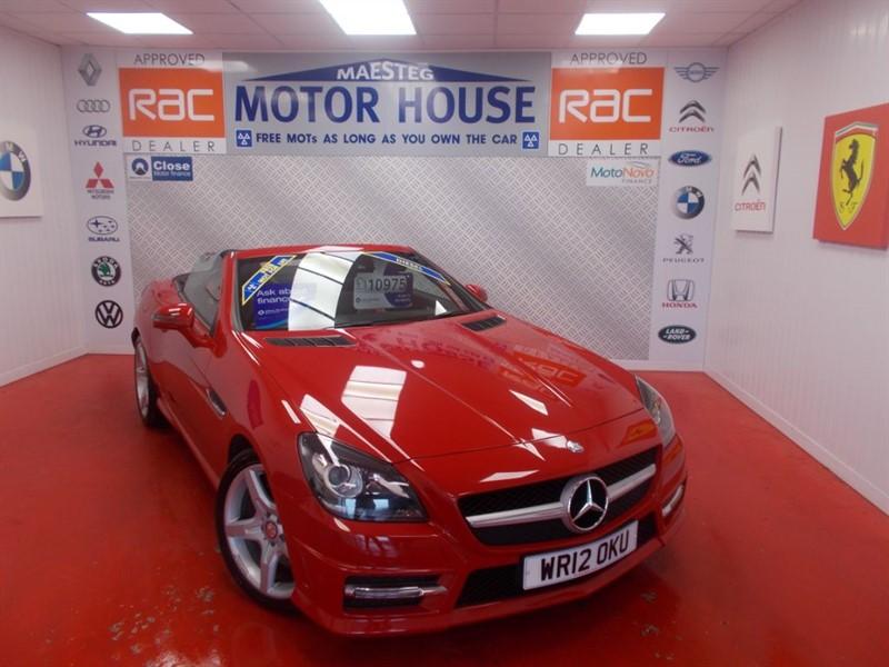 used Mercedes SLK SLK250 CDI BLUEEFFICIENCY AMG SPORT(FREE MOT'S AS LONG AS YOU OWN THE CAR!! in glamorgan