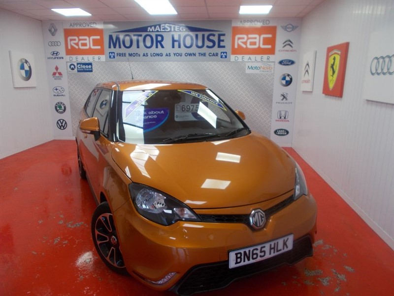 used MG 3 3 STYLE VTI-TECH(ONLY 20000 MILES)FREE MOT'S AS LONG AS YOU OWN THE CAR!!! in glamorgan