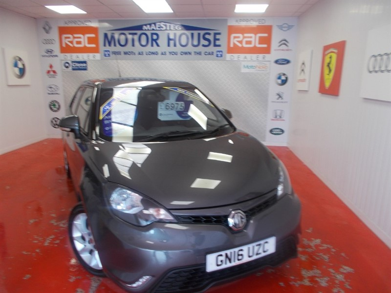 used MG 3 3 FORM SPORT VTI-TECH (ONLY 14000 MILES) FREE MOT'S AS LONG AS YOU OWN THE CAR!!! in glamorgan