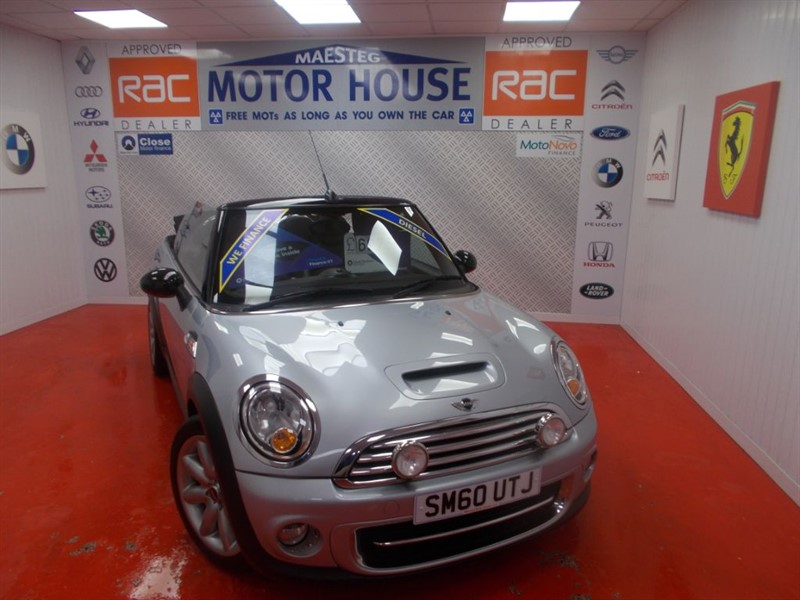 used MINI Convertible COOPER D(£20.00 ROAD TAX) FREE MOT'S AS LONG AS YOU OWN THE CAR!!! in glamorgan