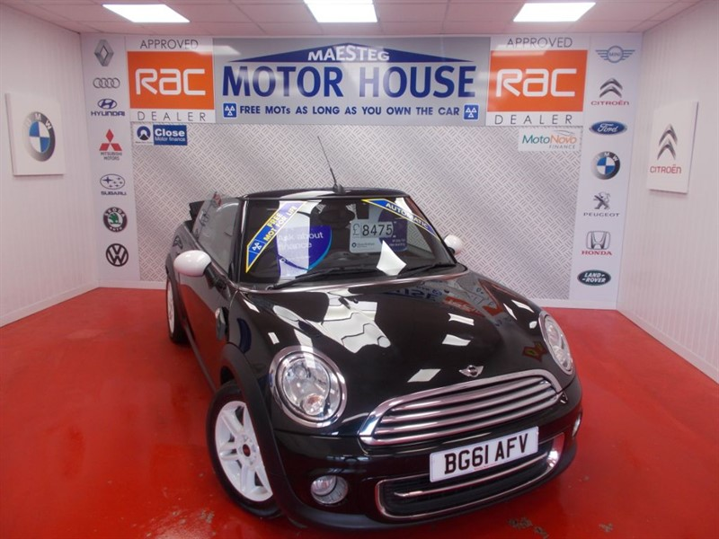 used MINI Convertible COOPER(AUTOMATIC) FREE MOT'S AS LONG AS YOU OWN THE CAR!!! in glamorgan