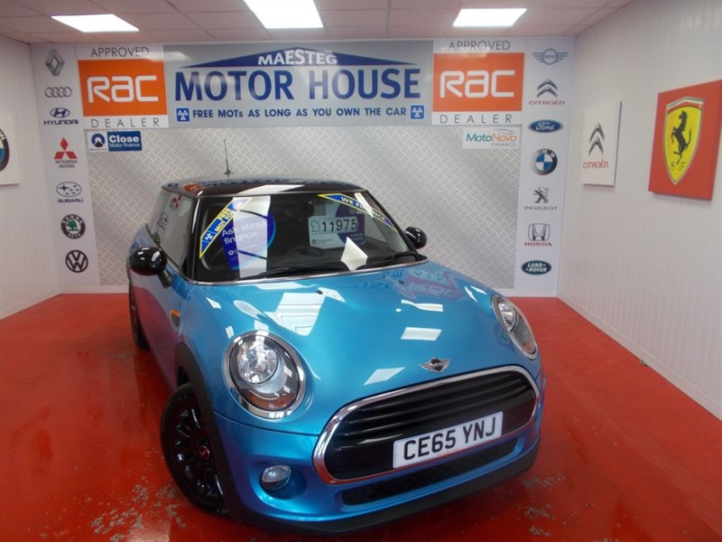 used MINI Hatch COOPER(£20.00 ROAD TAX) FREE MOT'S AS LONG AS YOU OWN THE CAR!! in glamorgan
