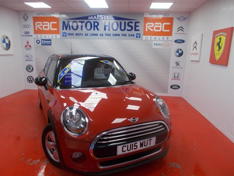 used MINI Hatch COOPER(£20.00 ROAD TAX&5 DOOR)FREE MOT'S AS LONG AS YOU OWN THE CAR!!! in glamorgan