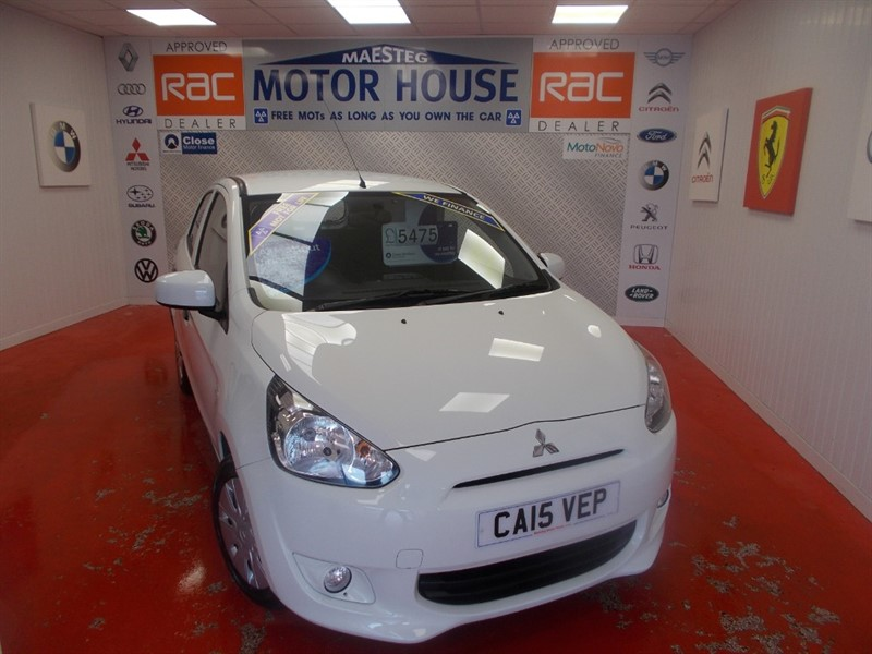 used Mitsubishi Mirage 1 (£0.00 ROAD TAX & ONLY 12000 MILES) FREE MOT'S AS LONG AS YOU OWN THE CAR!!! in glamorgan