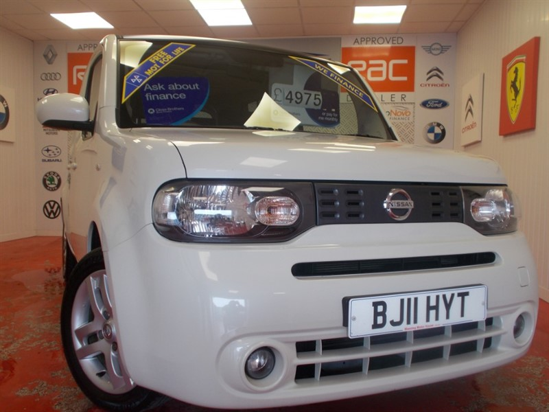 used Nissan Cube 16V (ONLY 42070 MILES)  (RARE CAR) FREE MOT'S AS LONG AS YOU OWN THE CAR!!! in glamorgan