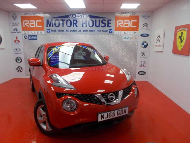 used Nissan Juke VISIA DCI(£20.00 ROAD TAX) FREE MOT'S AS LONG AS YOU OWN THE CAR!!! in glamorgan