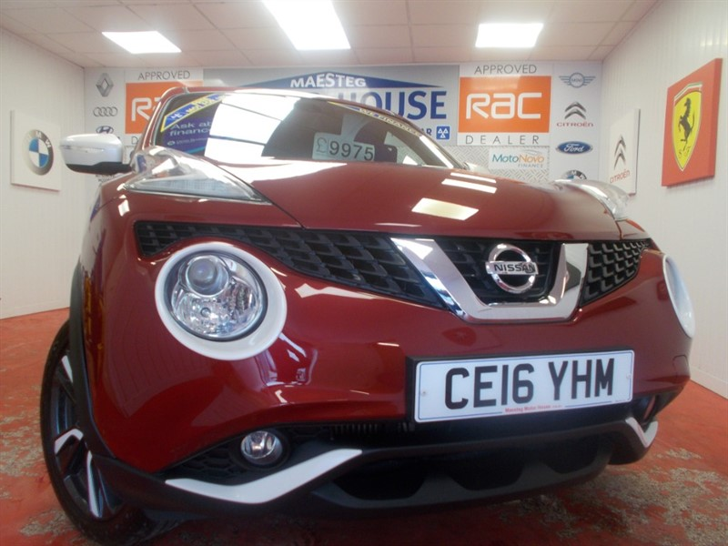 Car of the week - Nissan Juke N-CONNECTA DIG-T (SAT NAV) (ONLY 22582 MILES) FREE MOT'S AS LONG AS YOU OWN THE CAR!! - Only £9,975