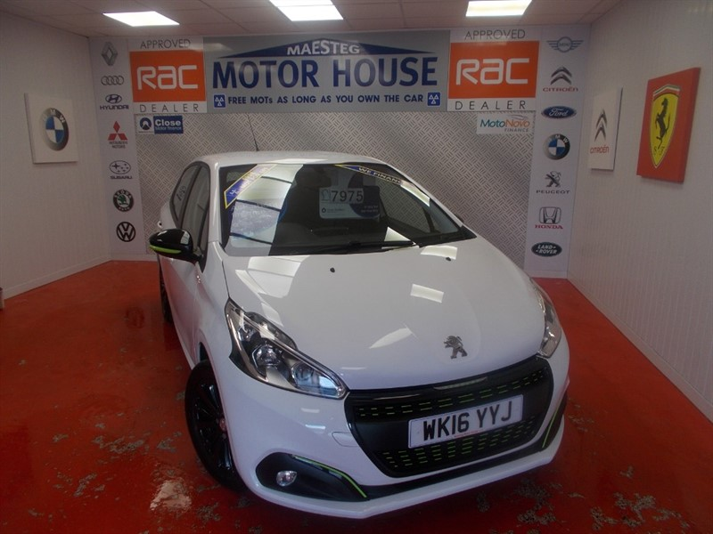 used Peugeot 208 XS LIME (ONLY £20.00 ROAD TAX) FREE MOT'S AS LONG AS YOU OWN THE CAR!!! in glamorgan
