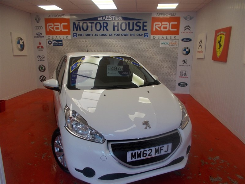 used Peugeot 208 HDI ACCESS PLUS(£0.00 ROAD TAX)FREE MOT'S AS LONG AS YOU OWN THE CAR!!! in glamorgan