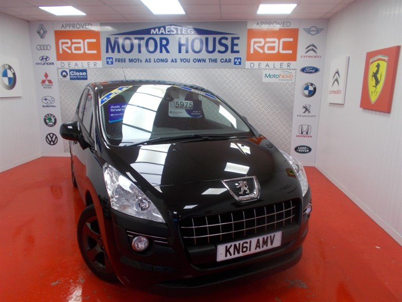used Peugeot 3008 SPORT HDI (SIMPLY STUNNING) FREE MOT'S AS LONG AS YOU OWN THE CAR!!! in glamorgan