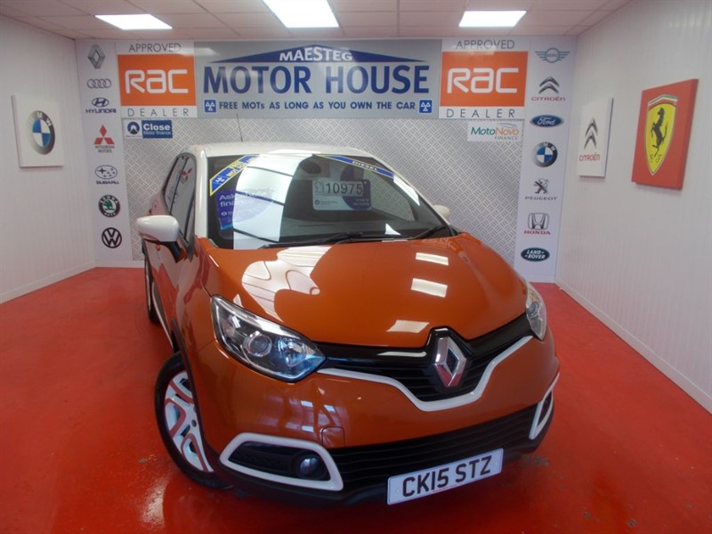used Renault Captur DYNAMIQUE S NAV ENERGY DCI S/S(FREE MOT'S AS LONG AS YOU OWN THE CAR!!!) in glamorgan