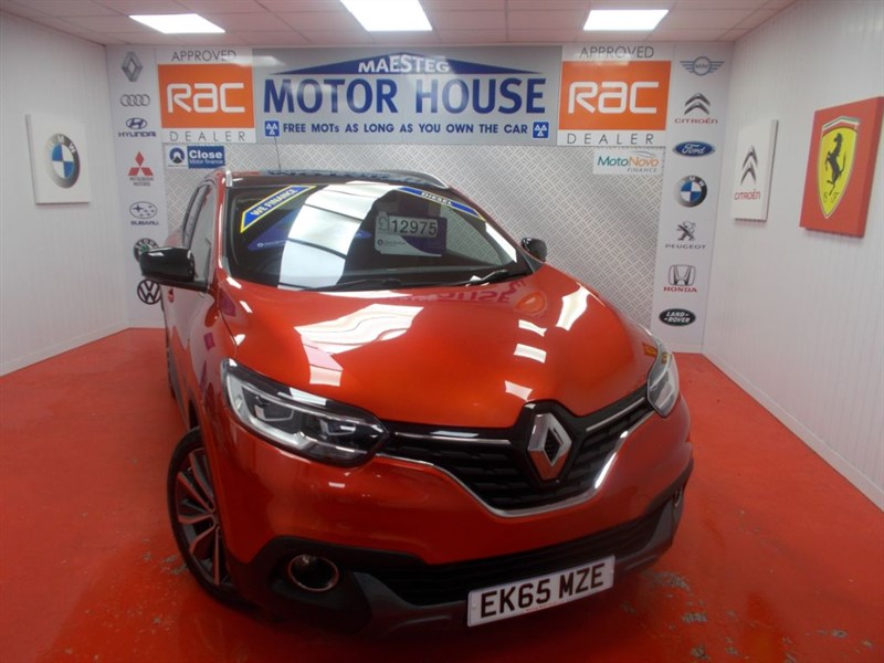 used Renault Kadjar SIGNATURE NAV DCI(£20.00 ROAD TAX) FREE MOT'S AS LONG AS YOU OWN THE CAR!!! in glamorgan