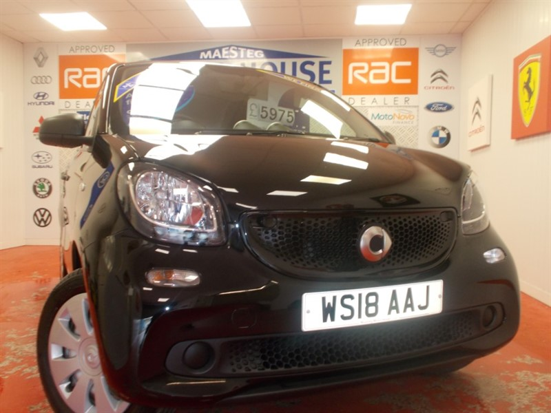 used Smart Car Forfour FORFOUR PURE (ONLY 5996 MILES) FREE MOT'S FOR AS LONG AS YOU OWN THE CAR!! in glamorgan