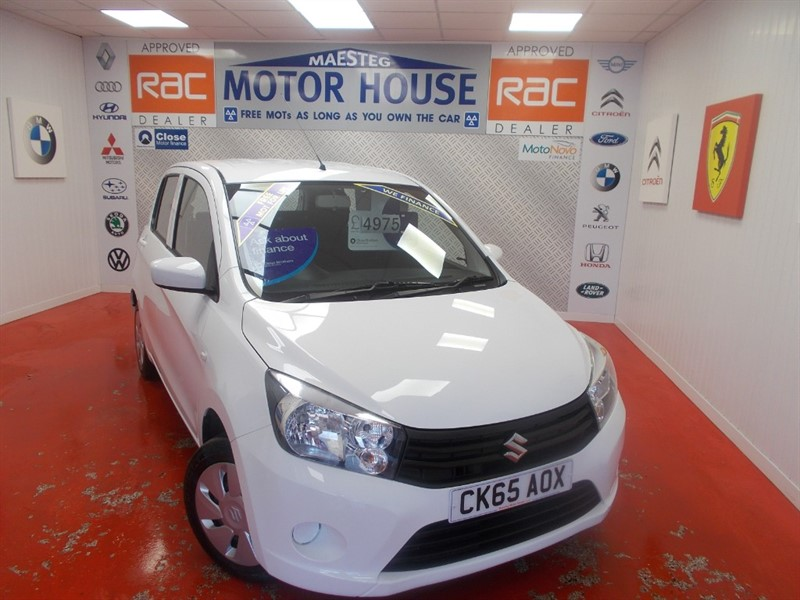 used Suzuki Celerio SZ2 (£0.00 ROAD TAX) ( ONLY 28798 MILES) FREE MOT'S AS LONG AS YOU OWN THE CAR!! in glamorgan