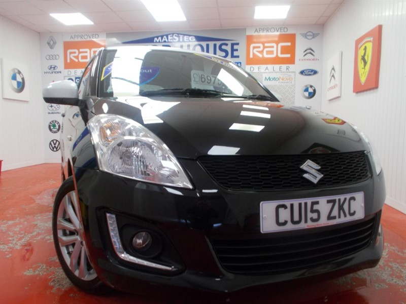 used Suzuki Swift SZ-L (ONLY 30611 MILES AND £30.00 ROAD TAX) FREE MOT'S AS LONG AS YOU OWN THE CAR!!! in glamorgan