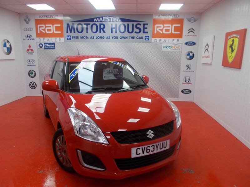 Car of the week - Suzuki Swift SZ2(£30.00 ROAD TAX) FREE MOT'S AS LONG AS YOU OWN THE CAR!!! - Only £4,475
