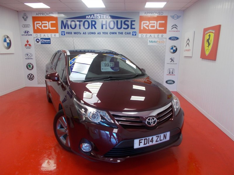 used Toyota Avensis D-4D EXCEL(£30.00 ROAD TAX & SAT NAV)FREE MOT'S AS LONG AS YOU OWN THE CAR! in glamorgan