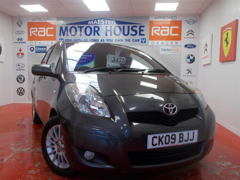 used Toyota Yaris VVT-I SR (£30.00 ROAD TAX) FREE MOT'S AS LONG AS YOU OWN THE CAR!! in glamorgan
