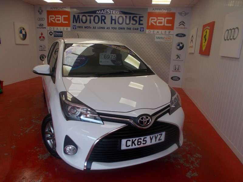 used Toyota Yaris VVT-I ICON (£30.00 ROAD TAX) (REVERSING CAMERA) FREE MOT'S AS LONG AS YOU OWN THE CAR!!! in glamorgan
