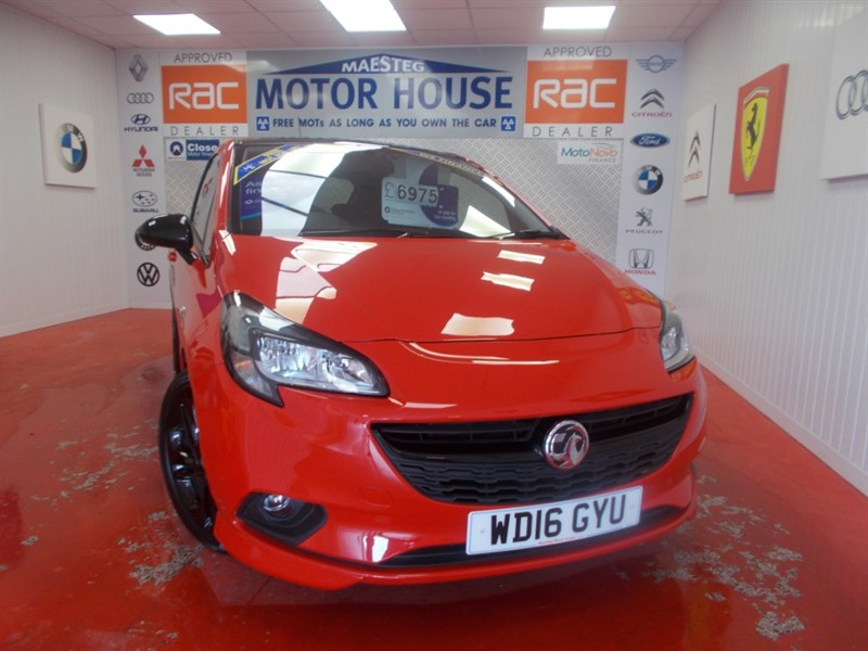 used Vauxhall Corsa LIMITED EDITION (£30.00 ROAD TAX)  (ONLY 28986 MILES) FREE MOT'S AS LONG AS YOU OWN THE CAR!!! in glamorgan