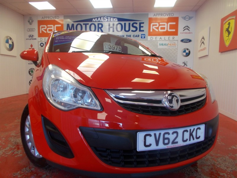 used Vauxhall Corsa S ECOFLEX (ONLY £30.00 ROAD TAX) (ONLY 45000 MILES) FREE MOT'S AS LONG AS YOU OWN THE CAR!!! in glamorgan