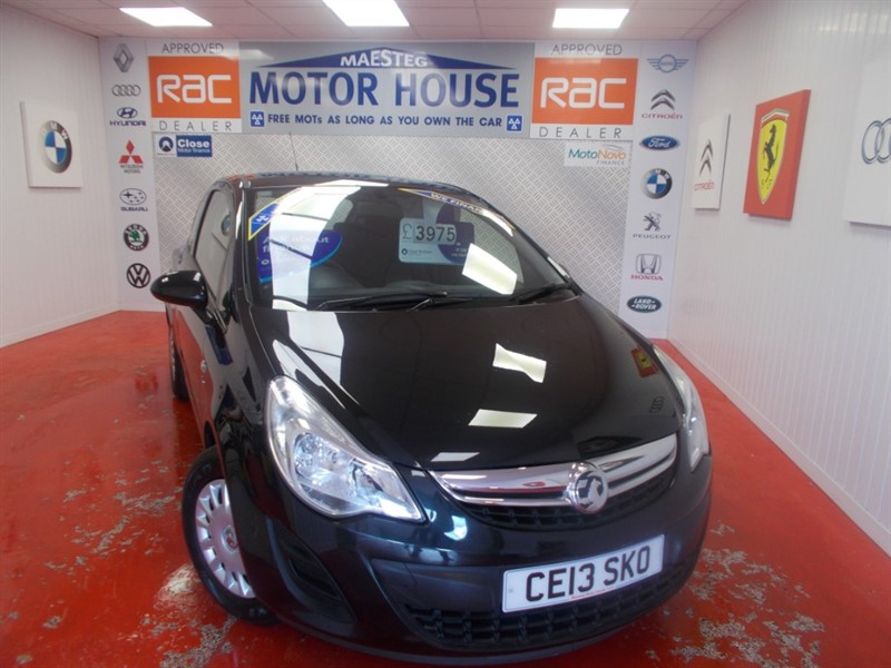 used Vauxhall Corsa S ECOFLEX (ONLY 33428 MILES) ( ONLY £30.00 ROAD TAX) FREE MOT'S AS LONG AS YOU OWN THE CAR!!! in glamorgan