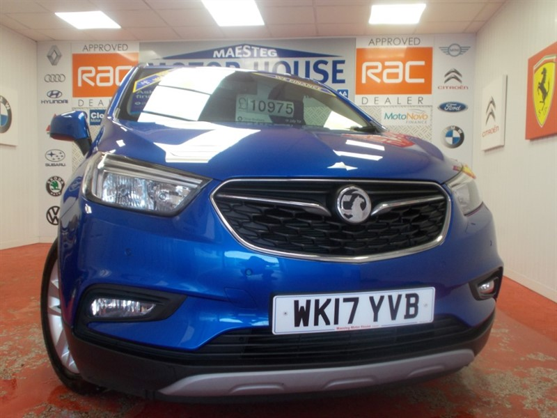 used Vauxhall Mokka X ACTIVE S/S (ONLY  16894 MILES) FREE MOT'S AS LONG AS YOU OWN THE CAR!!! in glamorgan