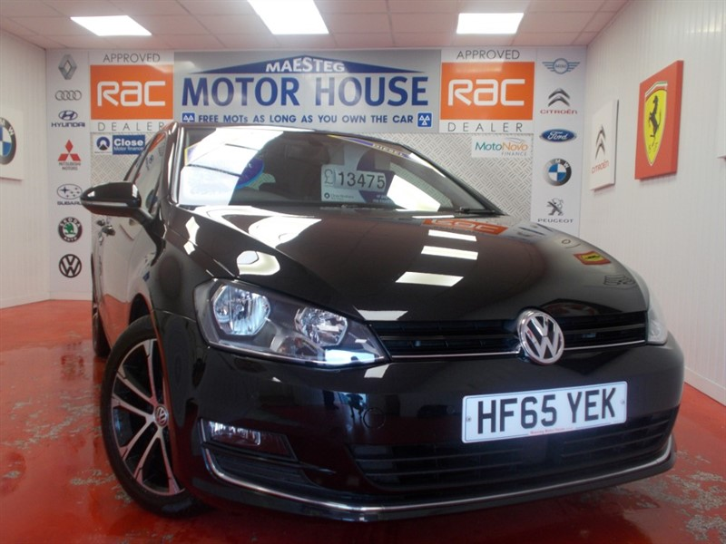 used VW Golf GT TDI (ONLY £20.00 ROAD TAX AND SAT NAV) FREE MOT'S AS LONG AS YOU OWN THE CAR!!! in glamorgan