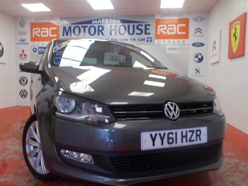 used VW Polo MATCH TDI (£20.00 ROAD TAX) FREE MOT'S AS LONG AS YOU OWN THE CAR!!! in glamorgan