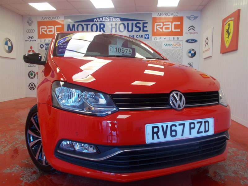 Car of the week - VW Polo BEATS (ONLY 13596 MILES AND GREAT SPEC) FREE MOT'S AS LONG AS YOU OWN THE CAR!!! - Only £10,975