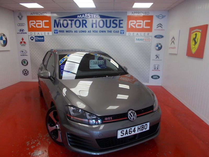 used VW Golf GTI PERFORMANCE(£140.00 ROAD TAX)FREE MOT'S AS LONG AS YOU OWN THE CAR!!! in glamorgan