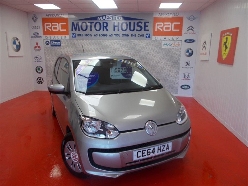 used VW Up MOVE UP(£20.00 ROAD TAX) FREE MOT'S AS LONG AS YOU OWN THE CAR!!! in glamorgan