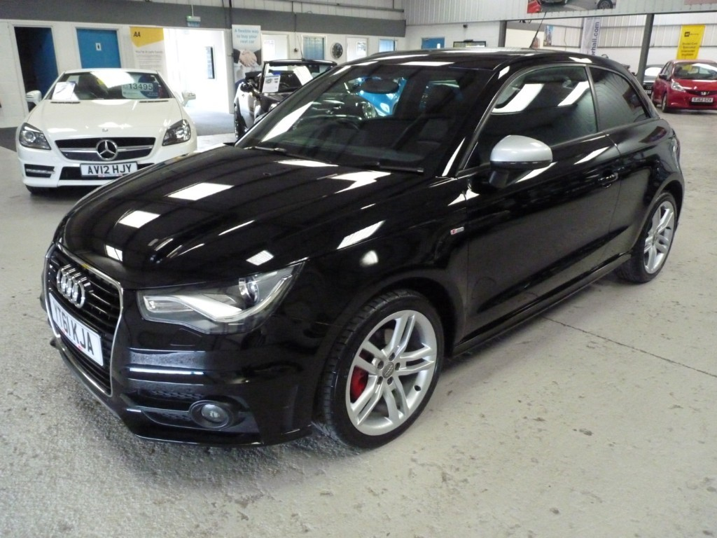 used Audi A1 TDI S LINE +LEATHER+7 SERVICES+£0 ROAD TAX in sheffield