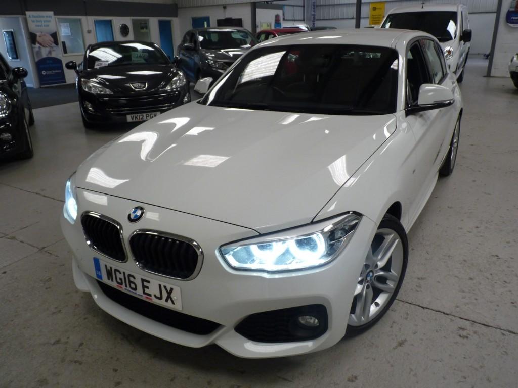 used BMW 120d M SPORT + FSH + APRIL 20 MOT + SAT NAV + DAB + LEATHER + AC + £30 TAX + 62MPG AVG in sheffield