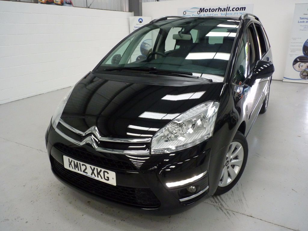 used Citroen C4 Picasso GRAND VTR PLUS HDI + 4 SERVICES + 7 SEATS + 2 KEYS in sheffield