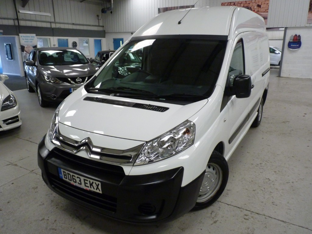 used Citroen Dispatch 1200 L2H2 2.0 HDI + SERVICE HIST + JUST SERVICED + JUNE 20 MOT + 6 SPEED + 3 SEATS + HIGH ROOF in sheffield